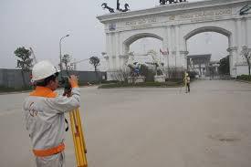 Giám sát trắc địa cho dự án khu đô thị mới Bắc An Khánh