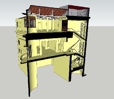 Nguyen Du villa 3D laser scan