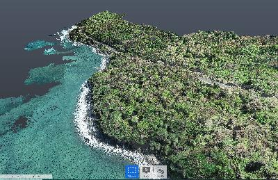 3D scan Con Dao resort and spa